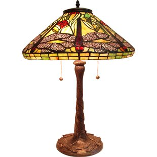Affordable Hackmore Dragonfly 24 Table Lamp By Astoria Grand
