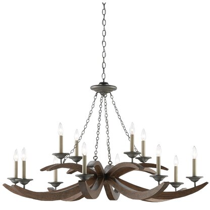 Luxury Rustic Chandeliers | Perigold
