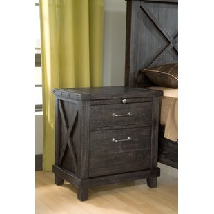 Langsa 2 Drawer Nightstand by Laurel Foundry Modern Farmhouse
