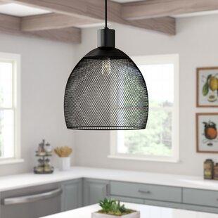 Laurel Foundry Modern Farmhouse Bouvet Industrial 1-Light Dome Pendant