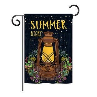 Summer Night 2-Sided Polyester 1'6.5 X 1'1 Garden Flag by Breeze Decor