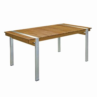 Solis Wooden Dining Table By Sol 72 Outdoor