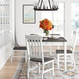 Reichard 5 Piece Extendable Dining Set by August Grove®