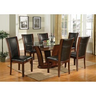 Latitude Run Prosperie 7 Piece Dining Set
