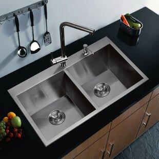 Brier Double Bowl Kitchen Sink BydCOR design