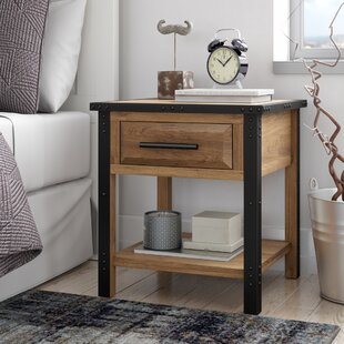 Read Reviews Harrah's 1 Drawer Nightstand by Trent Austin Design