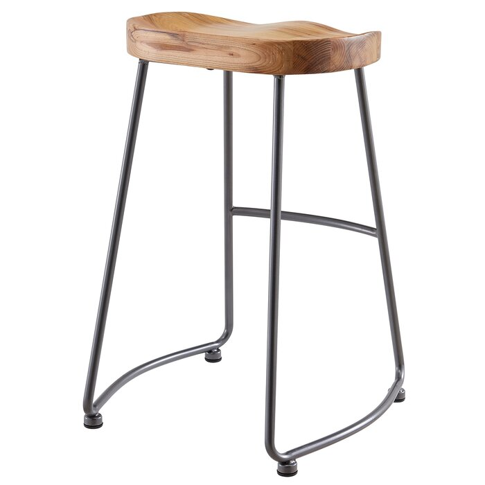 Superb Brookshire Solid Wood Metal Counter Stool Set Squirreltailoven Fun Painted Chair Ideas Images Squirreltailovenorg