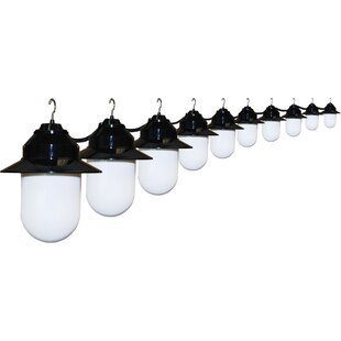 20 ft. 10-Light Shaded String Light by Polymer Products