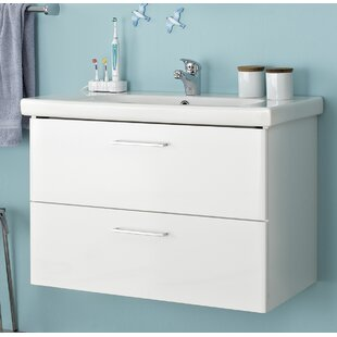 Carina 830mm Wall Mounted Vanity Unit By Quickset