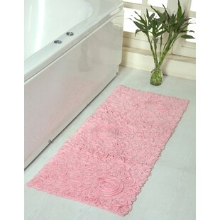 Pink Rose Bath Rug Wayfair