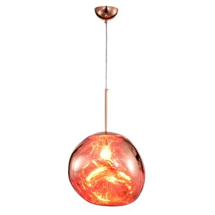 Sargeant 1-Light Schoolhouse Pendant by World Menagerie