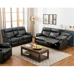 Novia Reclining 2 Piece Living Room Set by Roundhill Furniture