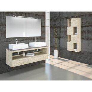 Edmund 1400mm Wall Mount Double Vanity By Belfry Bathroom