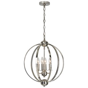 Leesanne 4-Light Globe Chandelier by Orren Ellis