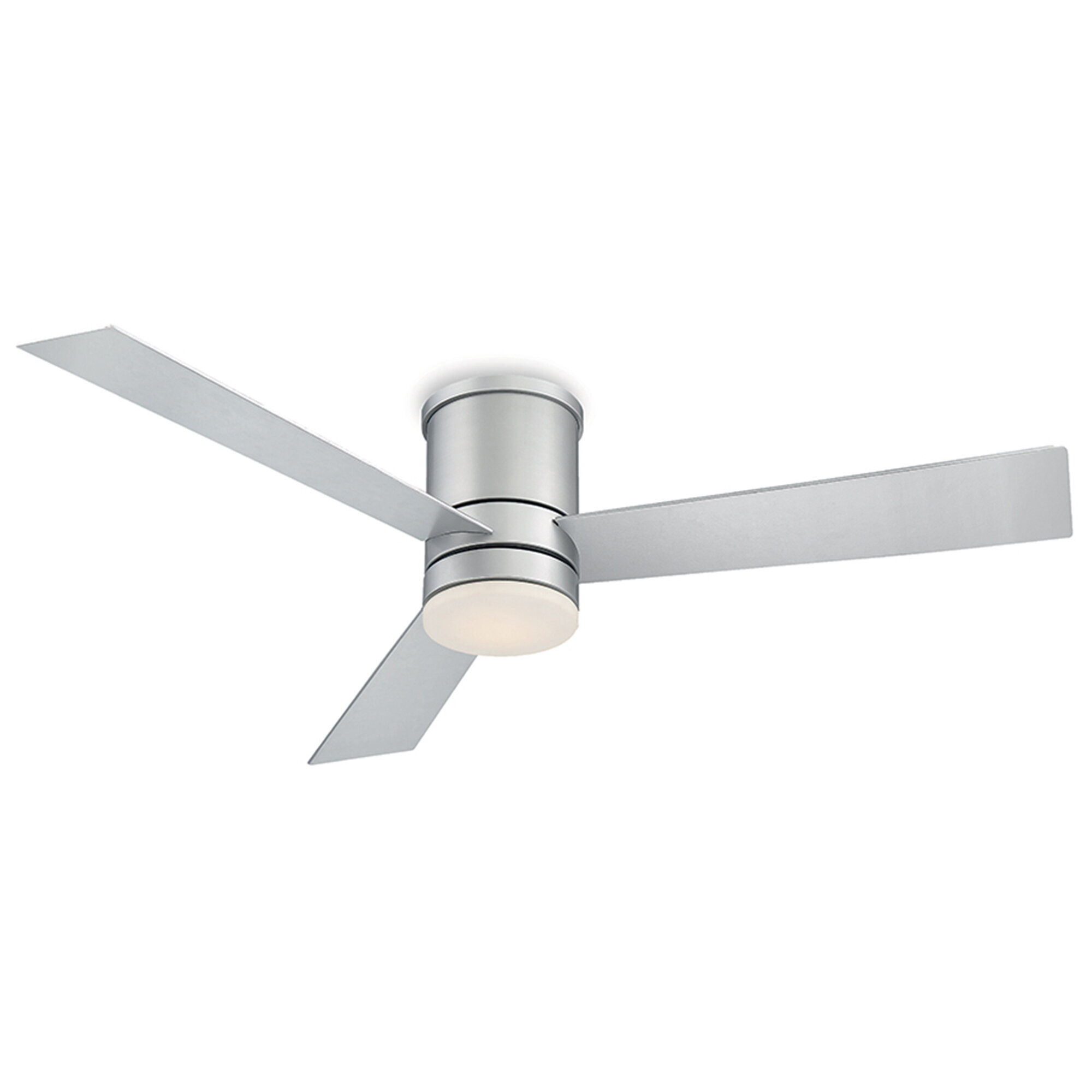 Modern Forms 52 Axis 3 Blade Outdoor Led Smart Flush Mount Ceiling Fan With Light Kit Included Reviews Wayfair