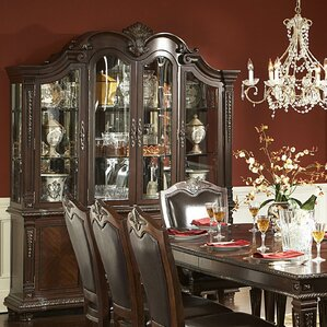 Amalfi Lighted China Cabinet by Astoria G..