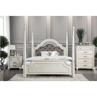 Aubrie Upholstered Panel Configurable Bedroom Set