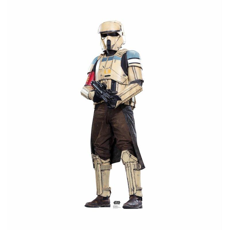 Advanced Graphics Star Wars Rogue One Shoretrooper Life Sized Cardboard Cutout Wayfair