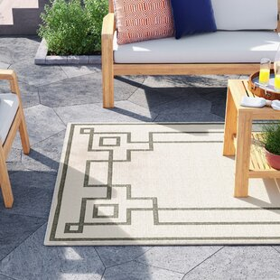 Amherst Machine Woven Beige/Moss Indoor/Outdoor Area Rug