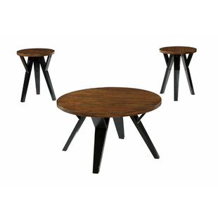 Tedder 3 Piece Coffee Table Set by Ivy Bronx