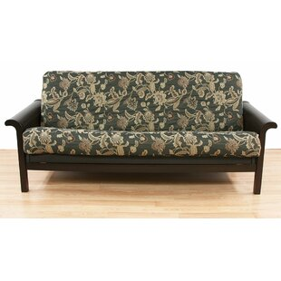 Ashante Floral Box Cushion Futon Slipcover