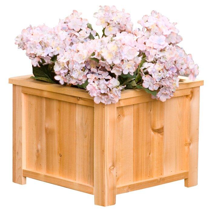 usa cedar planter box