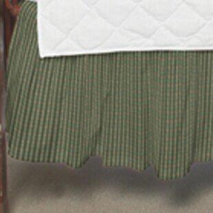 Read Reviews Valenzuela Check Fabric Crib Dust Ruffle ByHarriet Bee
