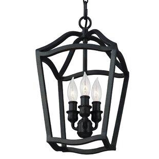 Comparison Nicoll 3-Light Lantern Pendant By Darby Home Co