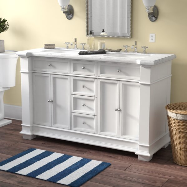 Darby Home Co Riccardo 60 Double Bathroom Vanity Set Reviews Wayfair