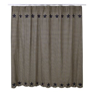 Mancheer Cotton Single Shower Curtain