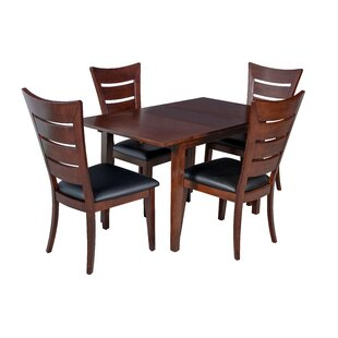 Armstrong 5 Piece Solid Wood Dining Set b..