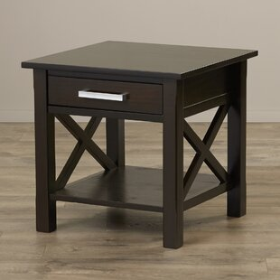 Affordable Kitchener End Table With Storage By Simpli Home
