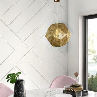 Bullis 1-Light Globe Pendant by Mercury Row