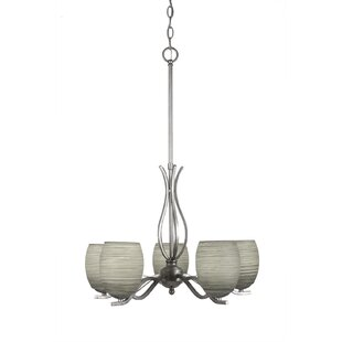 Red Barrel Studio Hiroko 5-Light Shaded Chandelier