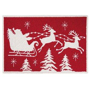 Christmas Rugs You'll Love | Wayfair