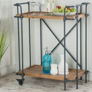 Williston Forge Remy Bar Cart