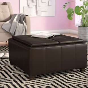 Dewall Cocktail Ottoman by Andover Mills