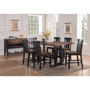 Goodman 7 Piece Counter Height Dining Set