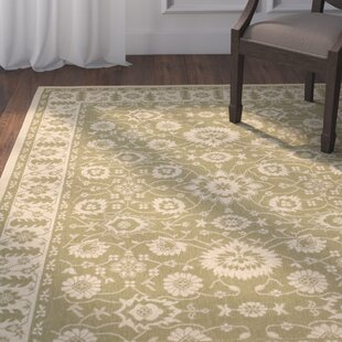 Beasley Olive/Creme Indoor/Outdoor Area Rug