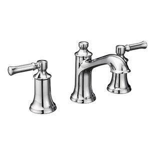Dartmoor Widespread Bathroom Faucet with Drain Assembly ByMoen