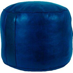 Modern   Contemporary Navy Blue Ottoman  5349e12799990