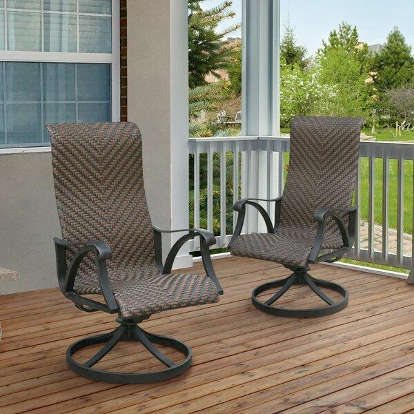 Darby Home Co James Wicker Rocking Chair U0026 Reviews   Wayfair