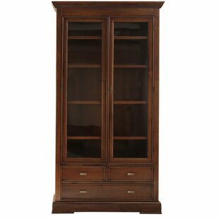 Brianza Solid Wood Display Cabinet By Ophelia & Co.