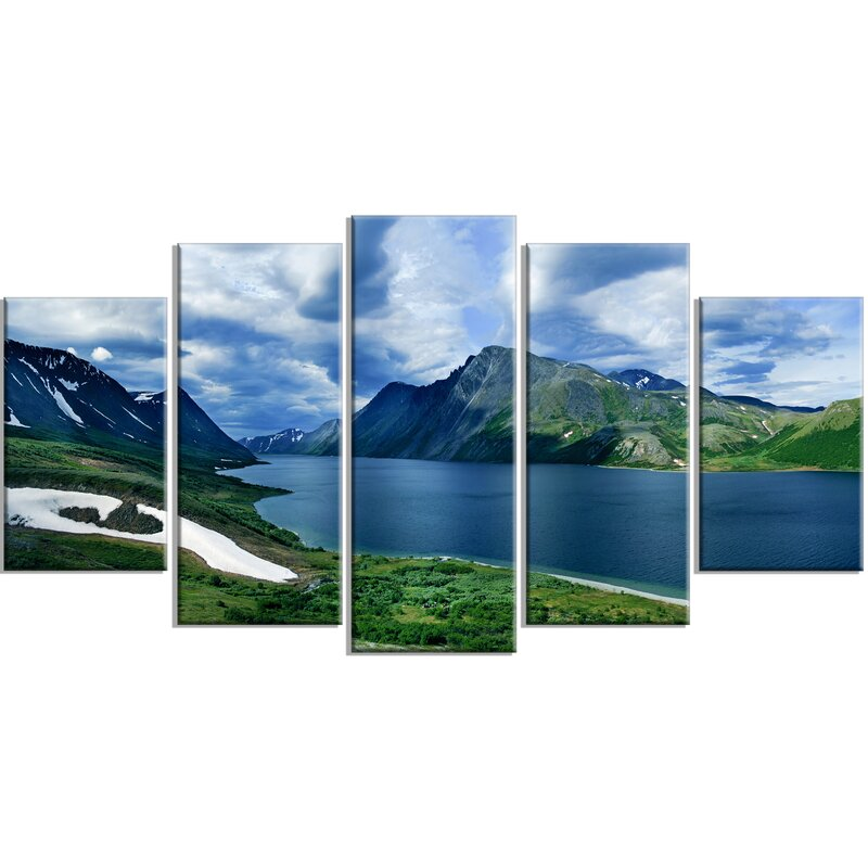 Designart Polar Ural Mountains Panorama Photographic Print Multi Piece Image On Canvas Wayfair