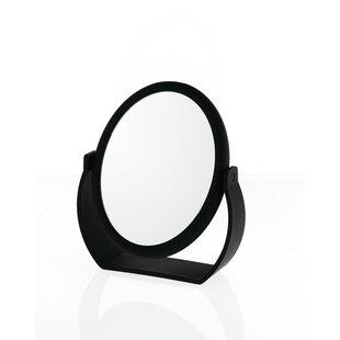 Midnight Matte Oval Vanity Mirror ByDanielle Creations