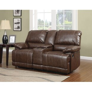 Red Barrel Studio Barta Motion Reclining Loveseat with Console