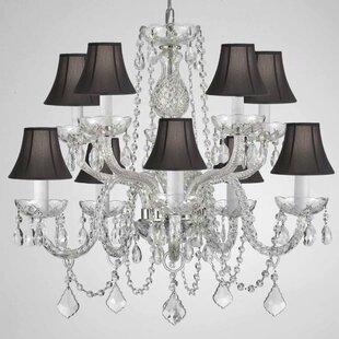 House of Hampton Kerner 10-Light Shaded Chandelier