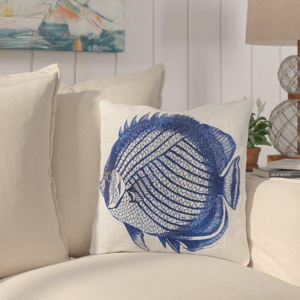 Highland Dunes Chaucer Graphic Print Indoor Outdoor Throw Pillow Reviews Wayfair