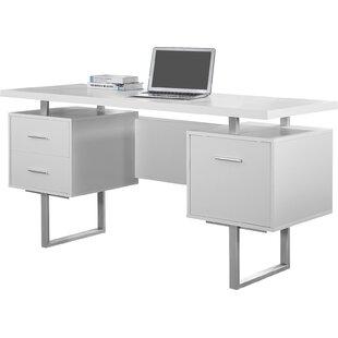 computer desks modern  Modern Desks | AllModern