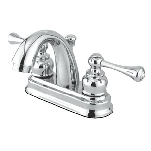 Kingston Brass Vintage Centerset Bathroom Faucet with Drain Assembly